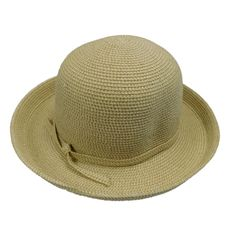 Sun protection hat with kettle brim for women. Shapeable brim, wide turned up. Soft cotton and paper blend braid hat. Cloche Hat, Brim Hat, Sun Protection Hat, Summer Hats For Women, Kettle, Tweed, Womens Fashion, Products, Flap Hat