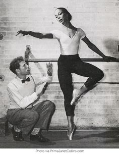 15-year-old Janet Collins tried out for the renowned Ballet Russe de Monte Carlo company in 1932 but she declined to join when she found out that she would not be allowed to perform without painting her African American skin white. She went on to become the first (and still to this day, only) Prima Ballerina at the Metropolitan Opera, in 1951. (Photo via PrimaJanetCollins.com) nwhm.org | National Women's History Museum |