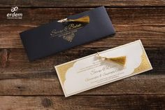 Erdem Davetiye Gold Liner, Gold Calligraphy, Erdem, New Shop, Hello Everyone, Wedding Invitations, Etsy Seller, Place Card Holders, Personalized Items