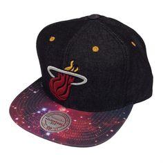 Mitchell & Ness Galaxy Miami Heat Snapback