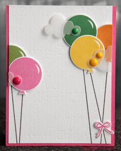 Clean and simple birthday card. Mainly products from Papertrey Ink