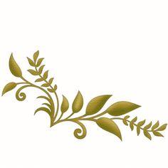 1 piece leaf corner by Samantha Walker Design ID #7829 Published: 2/16/2010 Regular cut