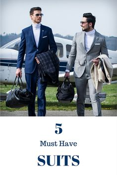 5 must have suits to keep in your wardrobe. See our style tips here: https://advanitailors.wordpress.com/2016/04/26/5-must-have-suits/