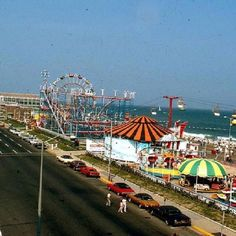 Asbury Park circa 1970. This is when I lived in Asbury. I loved the boardwalk. MIss it.
