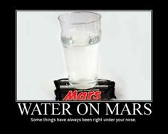 Water on Mars :)