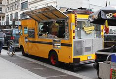 Karla Diaz Cano goes on a mission to find the best food trucks in the city of New York. First up, Wafels & Dinges.