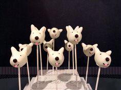 Dog cake pop