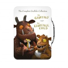 The Gruffalo DVD pack doble en caja metálica con asa (Gruffalo & Gruffalo's Child) DVD