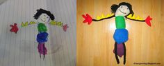 Draw Your Toy- turn your kid's drawing into real softie!