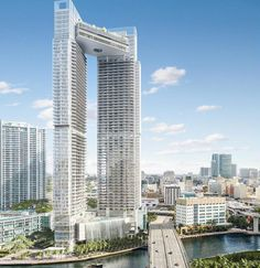 One of the most striking points One River Point condo is its fantastic setting area right in the heart of sought after Downtown Miami.
