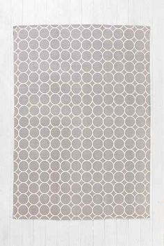 Plum & Bow Circle-Dot Rug