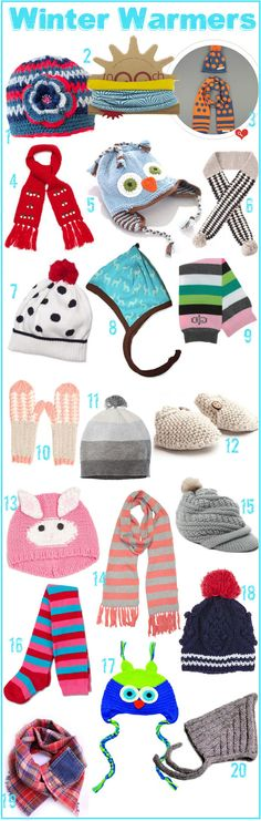 KidStyleFile Roundup: Winter Warmers - Cosy Accessories To Escape the Chill