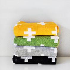 GREY Plus Blanket by WrenandRumor on Etsy, $72.00