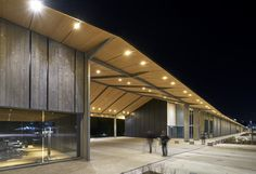 Image 42 of 42 from gallery of Under One Roof / Kengo Kuma & Associates. Photograph by Kengo Kuma And Associates Kengo Kuma, Shigeru Ban, Norman Foster, Swiss House, Wooden Pillars, Patio Canopy, Roof Detail, Gable Roof, Roof Architecture