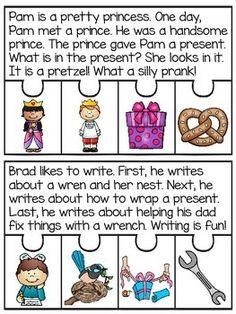 2 Letter Blends Fluency Puzzles