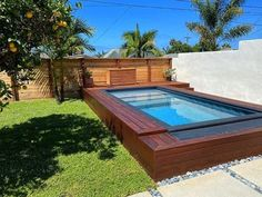 Swiming Pool, Small Swimming Pools, Swimming Pools Backyard, Pool Decks, Pool Landscaping, Best Above Ground Pool, In Ground Pools, Mod Pool, Shipping Container Swimming Pool