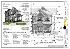 Lê Việt Trường - Some pages of my works with Sketchup and. Pavilion Architecture, Architecture Details, Modern Architecture, Autocad, Architect Drawing, Sketchup Model, Working Drawing, Construction Drawings, Technical Drawing