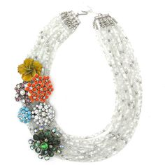 Eclectic on a Whim necklace by Elva Fields #elvafields