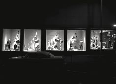 The Selber Bros. Department Store windows at night. #Vintage #Shreveport #Louisiana