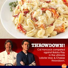 Lobster Mac n Cheese Bobby Flay Throwdown Challenge...