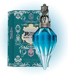 Killer Queen Royal Revolution by Katy Perry. According to Fragrantica, this contains notes of pomegranate, pink freesia, jasmine, orange flower, sandalwood, blackthorn, vanilla orchid, and leather.