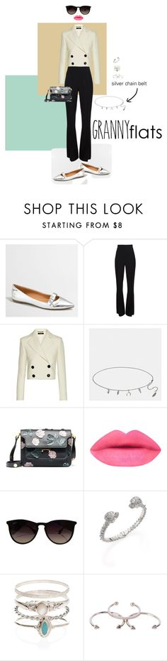 """13"" by aliceminlee ❤ liked on Polyvore featuring J.Crew, Cushnie Et Ochs, Pedro del Hierro, Coach, Marni, Ray-Ban, Alexander McQueen, Accessorize and Luv Aj"