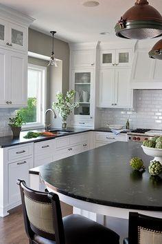 GEORGICA POND: My next kitchen - Black and White