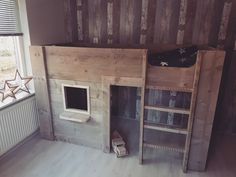 Slaapkamer Met Steigerhout : Steigerhout muur slaapkamer steigerhout muur in top collecties