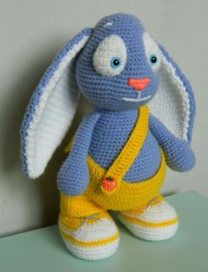 Bunny Amigurumi Step-by-Step Tutorial