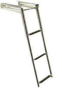 Garelick I O Swim Platform With Telescoping Ladder