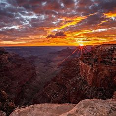 US Dept of Interior Photo of the Day. U.S. Department of the on Instagram: #Sunsets are amazing at the #GrandCanyon #NationalPark in...