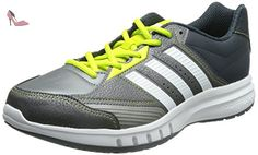 adidas Duramo 8Trainer Chaussures de Gymnastique, Anthracite/Blanc, 7.5 UK - 41 1/3 EU