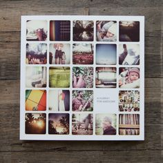 Artifact Uprising // Make your own photo book. Create your own photo album, photo calendar and photo cards. Album Hoffman, Album Design, Book Design, Album Digital, Diy Gifts For Mothers, Diy Foto, Artifact Uprising, Foto Instagram, Instagram Collage