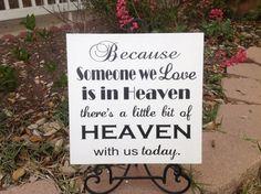 Weil jemand wir lieben im Himmel ist-es gibt von CastleInnDesigns