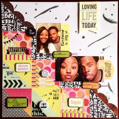 Go bold layout for NSD STUDIOS CALICO CHALLENGE!