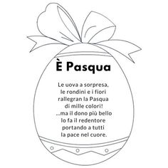 poesia pasqua Quilted Christmas Ornaments, Holidays And Events, Happy Easter, Crafts For Kids, Creative, Mamma, Google, 3, Education