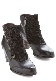 Vintage Style Boots-Victorian, Steampunk, Downton Abbey.  Anything Bud Ordinary Bootie $139.99