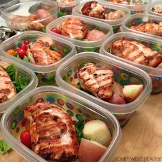 Honey We're Healthy: Healthy Meal Prep