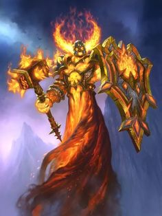 Ragnaros, Lightlord - Hearthstone: Heroes of Warcraft Wiki