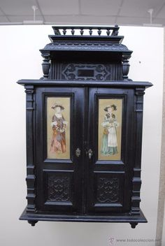 Coleccion muebles antiguos on pinterest antigua mesas - Muebles antiguos pintados ...