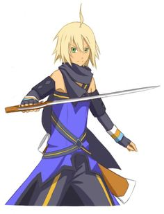 Emil Castagnier from Tales of Symphonia: Dawn of the New World