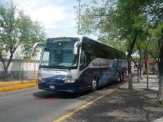 Volvo 9700 Grand de Ómnibus de México Plus en la Central del Norte, Ciudad de México