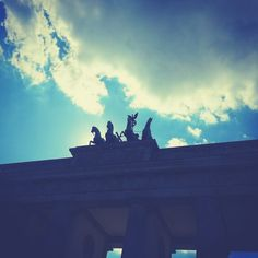 My brother and I went on a weekend break to Berlin in Germany at the end of the summer months. I was intrigued to find out more about the World Wars and the impact they had on this city in particul… How To Find Out, To Go, Weekend Breaks, Summer Months, Statue Of Liberty, Berlin, Things To Do, Germany, Clouds