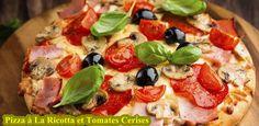 Pizza à La Ricotta et Tomates Cerises | Cuisine Camino