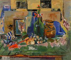 stilllifequickheart:  Florence Leif Tabletop Still Life 20th century
