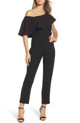 Ali & Jay Le Boulevard One-Shoulder Jumpsuit available at #Nordstrom
