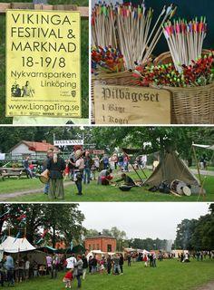 vikinga festival linkoping, sweden