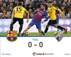 La Liga (Jornada 12): FC Barcelona 0 - Malaga CF 0