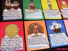 Thanksgiving writing ideas and activities that are a lot of fun and no prep!
