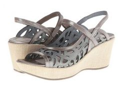 Naot Footwear Deluxe (Sterling Leather/Silver Threads Leather) Women's Sandals